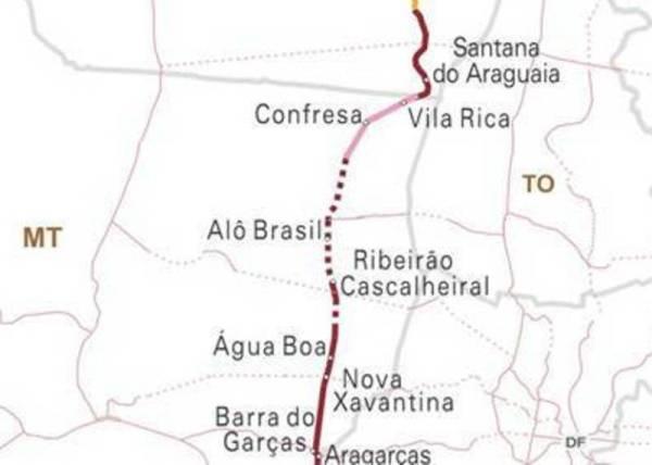 Asfalto na BR-158 deve chegar a Alô Brasil até o fim do ano.