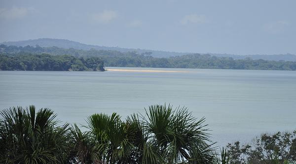 Trecho do Rio Tapajós que deve ser alagado. Fotos: Marcelo Assumpção /Cicloamazônia